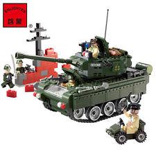 Hot Enlighten CombatsZone Military Tank Building Blocks Minifigures Toys