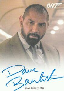 2016 007 James Bond Archives Spectre Dave Bautista autograph Mr. Hinx