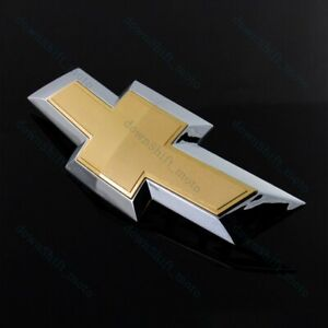 New For 2014-2018 Chevy Chevrolet Impala Front Grill Grille Bowtie Emblem Gold
