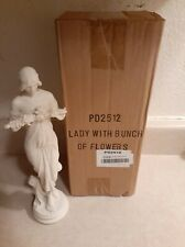 Design Toscano Nymph of The Morning Glories 1915 Bonded Marble Resin Statue