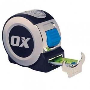 OX PRO HEAVY DUTY TAPE MEASURE - 5M - HEAVY DUTY CONSTRUCTION Ox-P020905