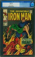 Iron Man # 3 CGC 6.5 -- 1968 -- Happy Hogan becomes Freak #0003844006