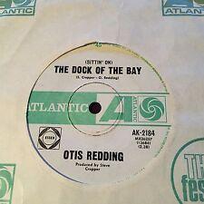 "OTIS REDDING - -  DOCK OF THE BAY - - 1968 Australian ATLANTIC 7""   Funk Soul"