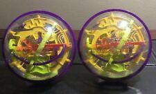 Lot Of 2 Original Perplexus 3D Maze Ball Labyrinth Puzzle Globe Brain Teaser