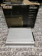 Clarion Pro Audio APA4201 4 Channel Amplifier