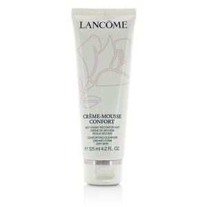Lancome Creme-Mousse Confort Comforting Cleanser Creamy Foam  (Dry Skin) 125ml