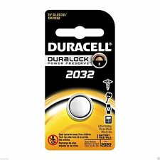Duracell Lithium-Based Watch Batteries