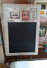 New refurbished vintage blackboard kitchen chalkboard rustic beer wine man cave