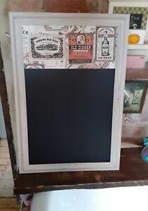 New refurbished vintage blackboard kitchen chalkboard rustic beer wine man cave