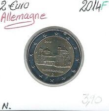 2 Euros - ALLEMAGNE - 2014 - Lettre: F // Qualité: Neuve