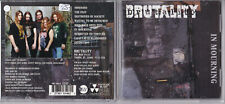 Brutality -In Mourning- CD Nuclear Blast near mint