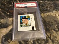 1969 Topps DECAL HARMON KILLEBREW ,HOF PSA GEM MT 10, MINNESOTA TWINS ,PERFECT