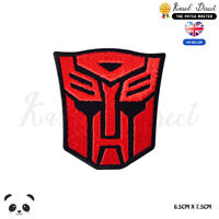 Transformer Super Hero Movie Embroidered Iron On Sew On Patch Badge