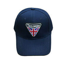 Triumph Motorcycle Punk patch Men's Unisex Hat Cap Custom Embroidered Style