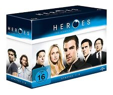 Heroes: The Complete Collection-Staffel 1-4 [Limited Edition] [17 Blu-rays]  NEU