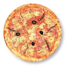 Magnet Aimant Frigo �˜38mm Photo Pizza Italie Tomate pâte cuisine Pizzeria