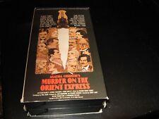 Murder on the Orient Express-2 vhs-Albert Finney-Lauren Bacall+++++++