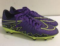 Nike Hypervenom Phelon II FG Soccer Cleats Size 7