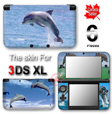 dolphin Cute Smart SKIN VINYL STICKER DECAL COVER for Nintendo 3DS XL