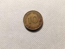 1950 BUNDESREPUBLIK DEUTSCHLAND 10 PFENNIG D COIN!    DD516XXX