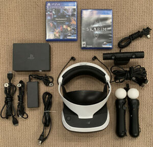 SONY PLAYSTATION PSVR CUH-ZVR2 - LOADED.