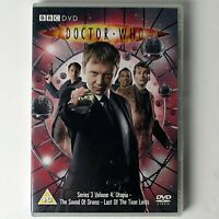 Doctor Who Series 3 Volume 4 (DVD, 2007 BBC) Utopia, Last of the Time Lords