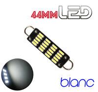 1 Ampoule navette 44 mm 44mm résistance 6 LED Blanc Habitacle Plafonnier coffre