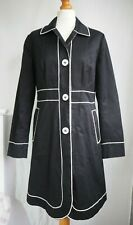Boden Coat 12 Black White Trenchcoat