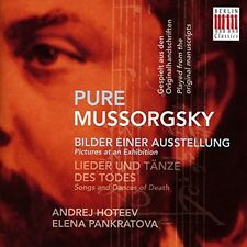 Pure Mussorgsky-Pictures At An Exhibition & Songs - Mussorgsky / (2014, CD NEUF)