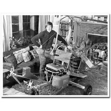 Photos - Bensen Gyrocopter Home Built Bill Spicer Crash Maryland 1973 (set of 2)