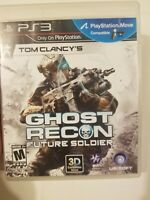 Tom Clancy's Ghost Recon Future Soldier PS3 Playstation Sony Tested Ubisoft