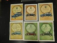 VINTAGE REO CAR ADS 1930'S ORIGINAL SET OF 6 FLYING CLOUD ROYALE LHJ SAT EVE