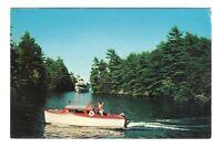 Paradise Bay Lake George New York Vintage Postcard AN45
