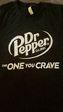 """Retro Men's/Unisex Dr Pepper """"The One You Crave""""~SS T-shirt~Size Large"""