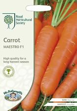 Mr Fothergills - Vegetable - RHS Carrot Maestro F1 - 400 Seeds