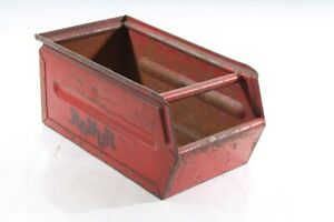 Old Storage Metal Industrial Design Lagersichtbehälter Metal Box Stacking Box
