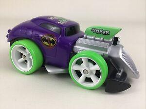 DC Super Friends The Joker Shake & Go Car Vehicle Hot Rod Purple 2007 Mattel Toy