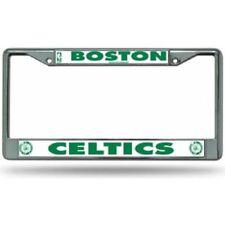 Boston Celtics NBA Basketball Chrome Auto Car License Plate Frame