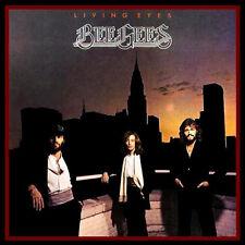 BEE GEES - LIVING EYES - 1981 VINYL LP - UK RELEASE - RSBG 001 (2479 222)