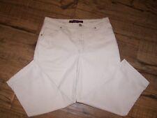 Gloria Vanderbilt Stretch Denim Capri Crop Jeans - Size 10 - Stone Color