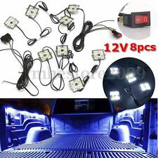 12V 48 LED Interior Lighting Light Switch Kit White For Chevy Dodge GMC Trucks