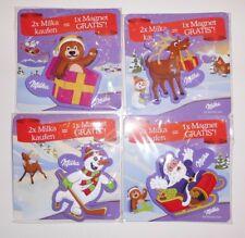 Milka Winter / Weihnachts Magnete Komplettsatz *neu und ovp*