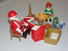 Playmobil Christmas Santa Father Christmas Post Office Desk Elf & Toys