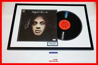 🔥 BILLY JOEL FRAMED SIGNED AUTOGRAPHED PIANO MAN ALBUM LP RECORD PSA JSA BSA