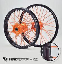 Jeu de roues KTM SX SXF 250 450 520 AVANT & arrière ORANGE/orange/Noir - 53.3CM