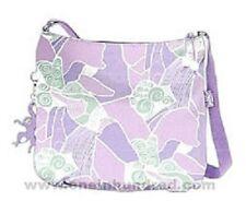 Kipling Rumba Large Printed Shoulder Bag Handbag - lavender