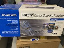Hughes Direct Tv Satellite Receiver with Remote cables and cord Model Gaeboa