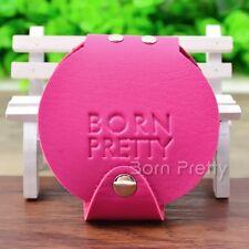 20 Slots BORN PRETTY 5.5cm Round Nail art Stamping Plate Organizer Holder Case