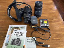Canon EOS Rebel XTi 400D 10.1MP DSLR Camera Kit w/EF 18-55mm/EF 75-300mm lenses