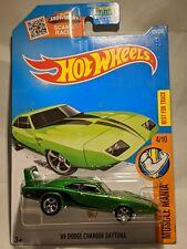 Hot Wheels 2016 Muscle Mania Super Treasure Hunt '69 Dodge Charger Daytona